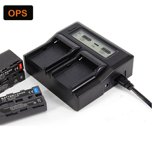 New LP-E6 LPE6 LP E6 LCD Dual Battery Charger for Canon  EOS 5D Mark iii 5D Mark ii 6D 60D 7D 70D