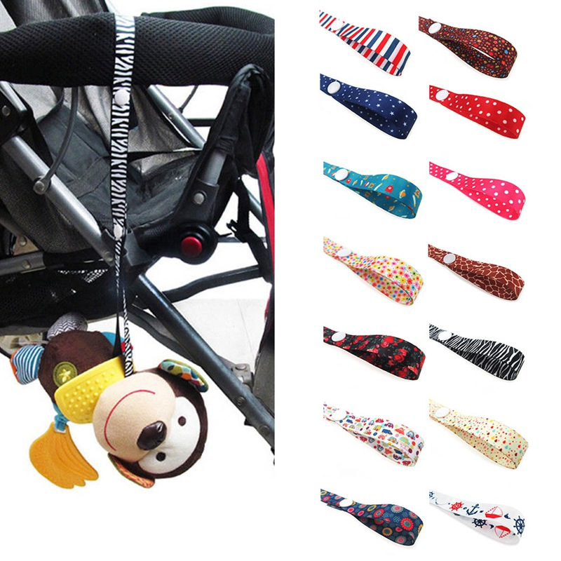 Baby Stroller Accessories Toys Fixed Strap Cute Holder Anti Lost Drop Band Saver Pacifier Chain