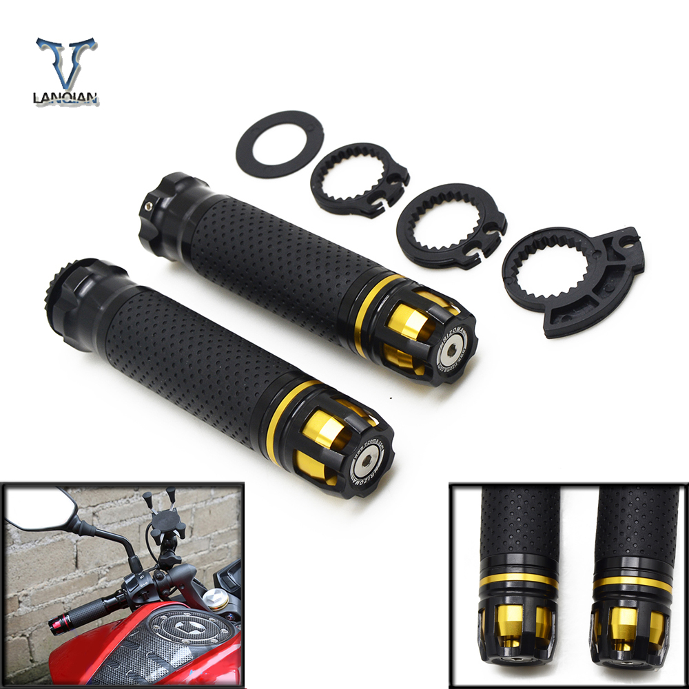 7 8 quot Motorcycle CNC Accessories Handle Grips Motorbike Handlebar Ends for Honda cbr 929 rr cbr929rr cbr 600 rr cbr954rr cb1000r in Grips from Automobiles amp Motorcycles