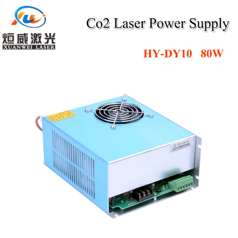 HY-DY10 80W Co2 Laser Power Supply For RECI Z1/W1/S1 Co2 Laser Tube Engraving / Cutting Machine DY Series