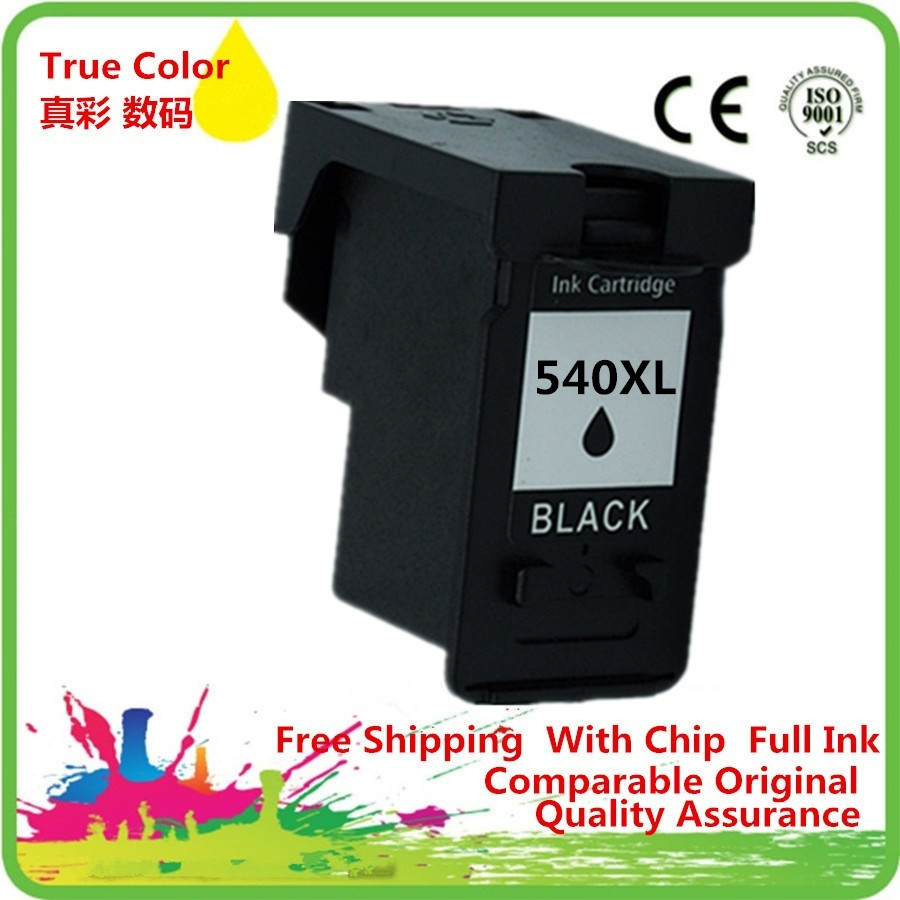 Ink Cartridge Remanufactured For Canon Pg 540 Pg 540bk Pg 540