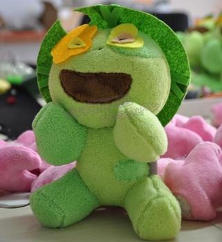 Niebieski egzorcysta Shiemi Moriyama Greenman Cosplay maskotki zabawki małe słodkie nadziewane i pluszowe lalki z kreskówek tanie i dobre opinie Kostiumy Dla dorosłych others