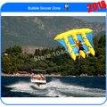 Бесплатная доставка 4 * 3 м рыбы летающая лодка fly для водных игр