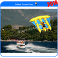 Free shipping 4*3m fish flying boat water fly for water games