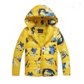 Boys Jacket&Outwear Minion Cartoon Warm hooded Winter jackets for boy Girls coat Children Winter Clothing Sale Boys Coat