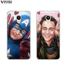 For Meizu Pro7 Case U20 U10 M6 5 Note M5S 5C M3s 3 Pro 6 16th Coque Etui Luxury Cute Marvel Avengers Spider-Man Heroes Iron Man цена