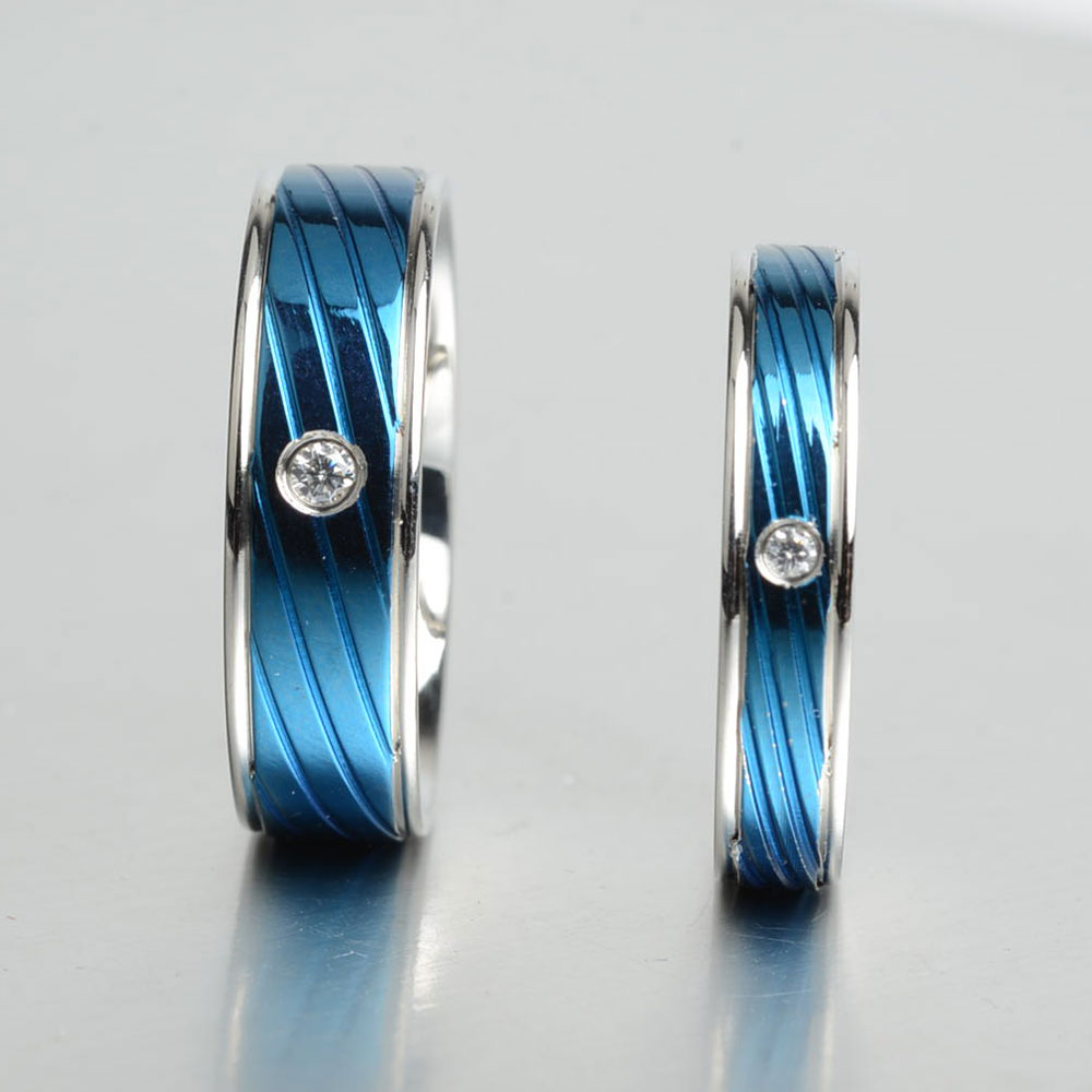 blue rings ssr ffj ring band electric fashion htm steel stainless p wedding