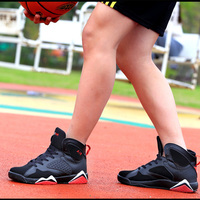 Top Men S Basketball Shoes Sneaker PU Breathable Outdoor Athletic Sport Boots Sneakers For Male Basketball