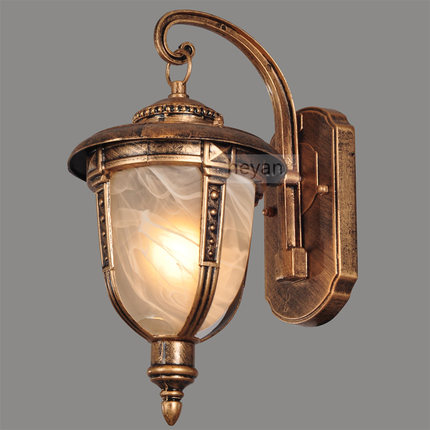 European LED Wall lamp Outdoor Waterproof Garden Light Rural Contracted Wall Lights Antique Restoring Ancient Ways Lighting european ways of law