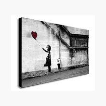 Banksy – affiches et imprimés de ballons pour filles, toile avec toujours de l'espoir, images murales imprimées d'art pour Salon, décoration de Salon de maison