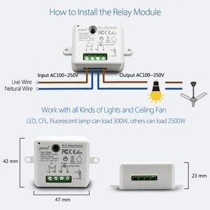 Image 4 - Tuya Vida Inteligente WiFi Tomada Interruptor módulo de Relé Disjuntor controle remoto google Casa Echo Alexa tomada de luz de automação residencial inteligente