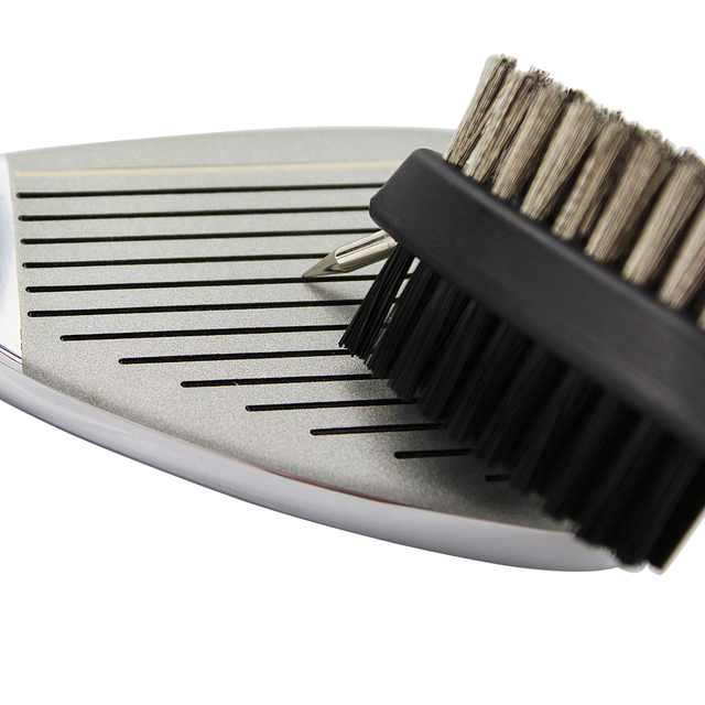 Golf Club Brush Golf Groove Cleaning Brush 2 Sided Golf Putter Wedge Ball Groove Cleaner Kit Cleaning Tool Gof Accessories 5