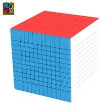 Mais novo moyu meilong 11x11 11 camadas velocidade cubo mágico moyu 11x11x11 stickerless cubo quebra cabeça magico cobo crianças