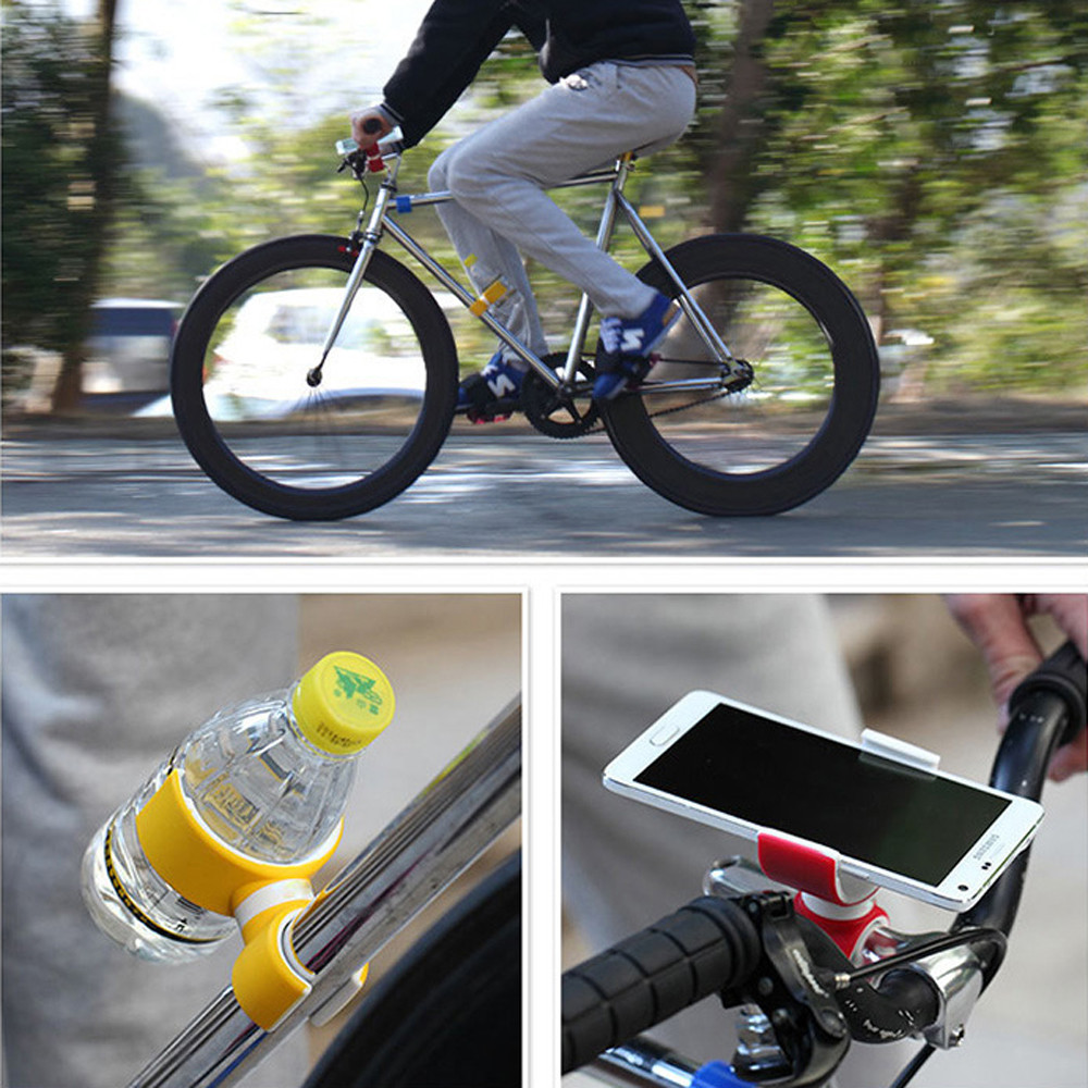 Bicycle - Outdoors Bicycle 360 Degrees Air Vent Mount Bicycle Car Cell Phone Holder For 3.5-6.0inch Phone Outdoor Cycling