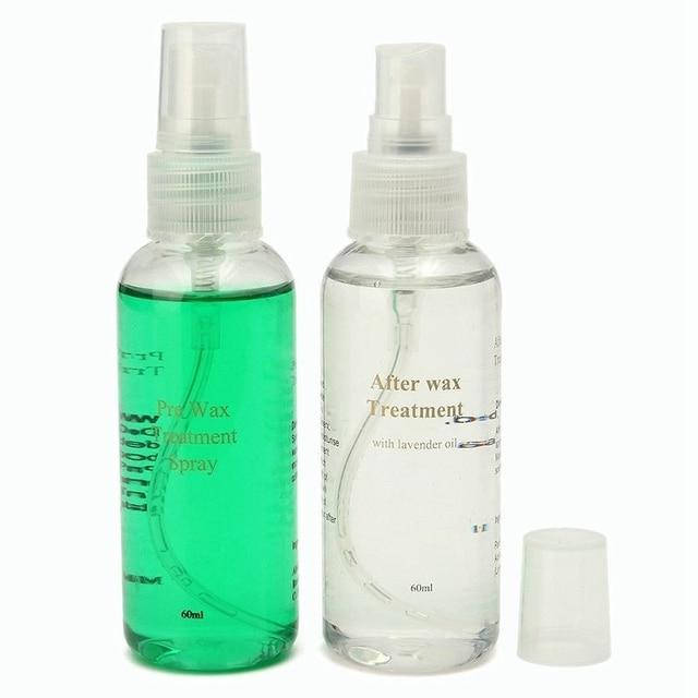 Smooth Body Hair Removal Spray PRE & After Wax Treatment Spray Liquid Hair Removal Remover Waxing Sprayer 3