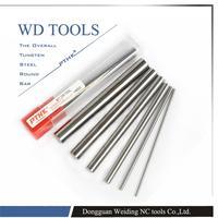 HRC65 1 adet/grup 20mm çap x 100mm uzunluk tungsten çelik dairesel çubuk için Uygun damgalama