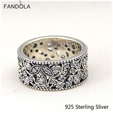 42a8671ab Buy shimmering leaves ring wedding bands and get free shipping on ...