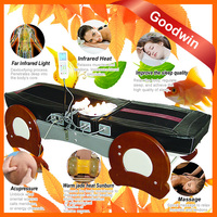 2015 Quality Jade Roller Massage Table Half Body Massage Ceragem Jade Massage Bed GW JT10