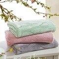 Junwell бамбуковое одеяло покрывало для кровати бамбуковое трикотажное одеяло для взрослых плед одеяла летний диван cobertor