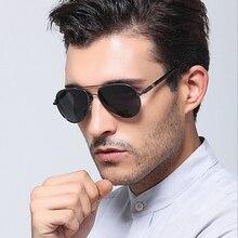 Aviation Metail Frame Quality Oversized Spring Leg Alloy Men Sunglasses Polarized Brand Design Male Sun Glasses Driving