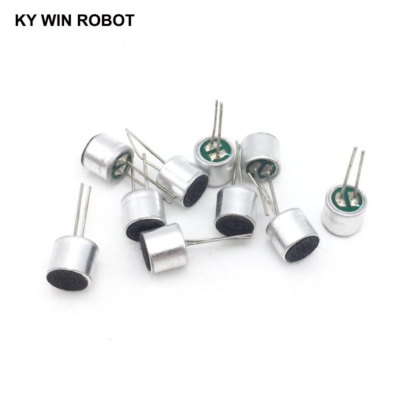 10 PCS/LOT 6x5mm 6050 Microphone Electret Microphone With 2 Pin Pick-up
