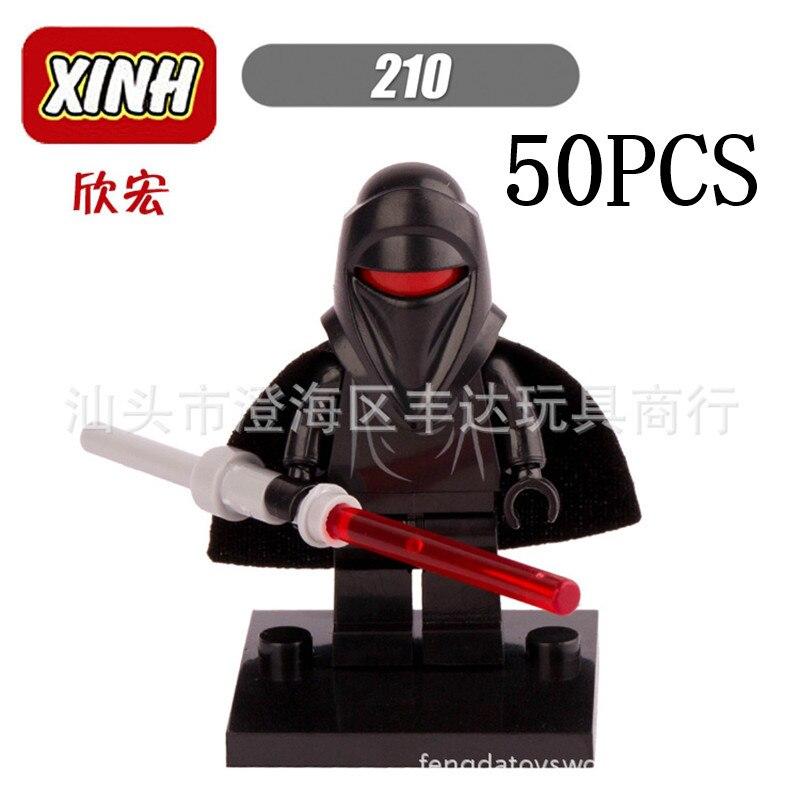 Star Wars Lepin Pogo XINH Wholesales Black XH210 50PCS Building Blocks Bricks Action Figures Compatible Legoe Toys генератор al ko 2000i