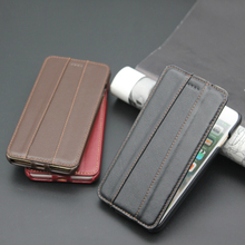 wholesale!!Wallet Style Flip Genuine Leather Phone Case For iPhone 7 8 Plus 7Plus 8Plus Real leather Luxury Back Cover Cases&bag