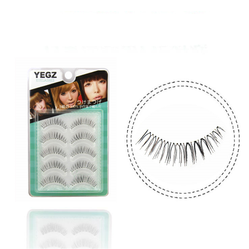 Follome Nature Long False Eyelashes Hand Make Full Strip Volume Make Up Tools Cosmetics Fake Eye Lashes Long Lasting