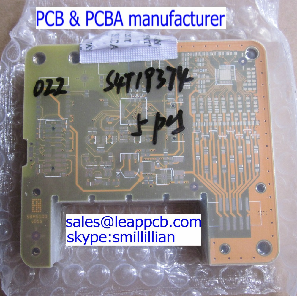 25mm 4 Layer Printed Circuit Boardyellow Soldermask Pcbyellow Board Maker2 Layers Makercircuit Maker Multilayer In Home Automation Modules From Consumer Electronics On