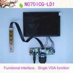 Todos os novos 7 polegada 1280*800 wxga ips lcd N070ICG-LD1 monitor de exibição do carro conjunto vga