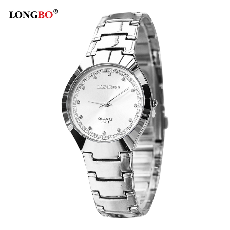 LONGBO Brand Men Women Brief Casual Quartz Crystal Wrist Watches Luxury Brand Quartz Watch Relogio Feminino Montre Femme 8201
