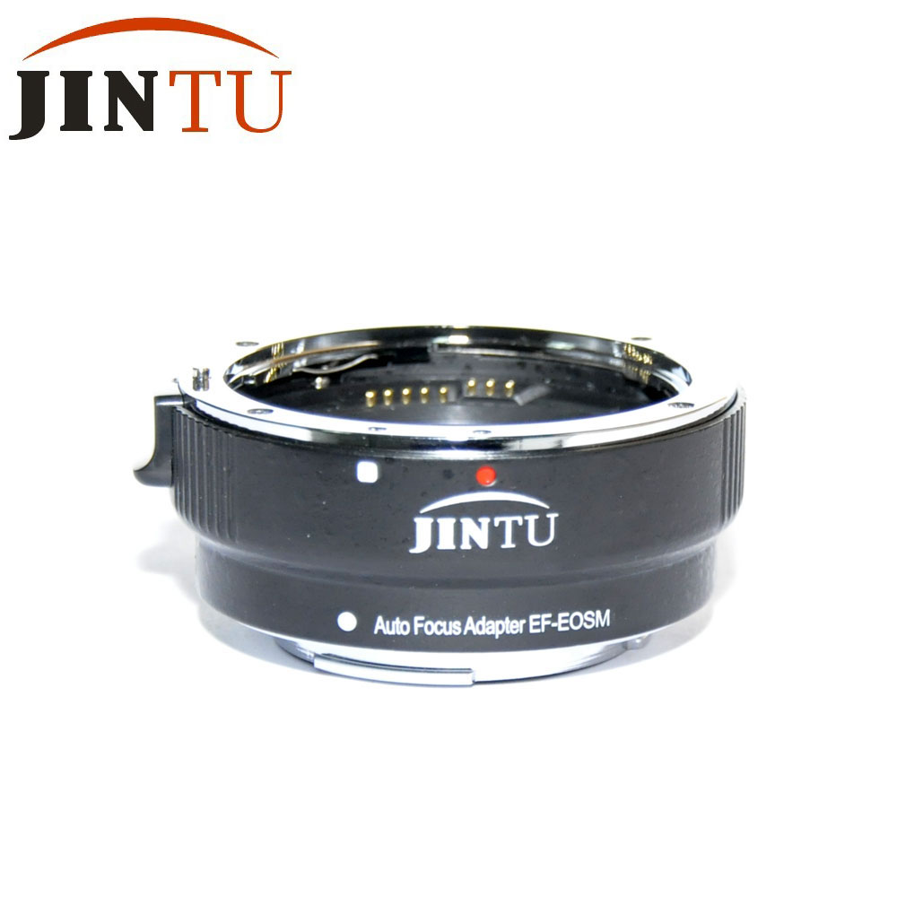 Jintu AF lens adapter Auto Focus EF-EOS M MOUNT Lens Mount Adapter ring for Canon EF EF-S Lens to Canon EOS Mirrorless Camera canon ef eos m