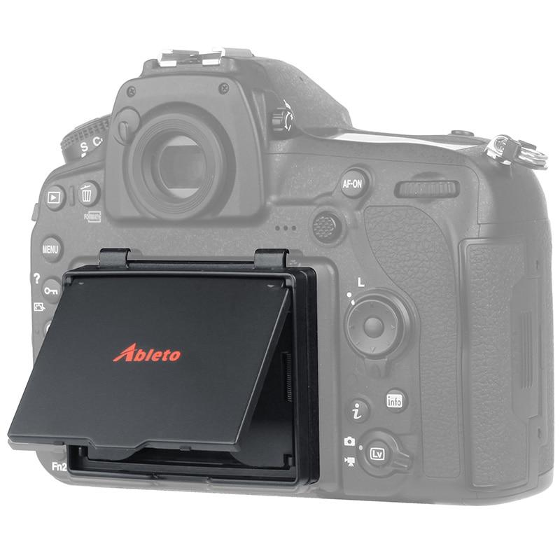 D850-A Ableto Tela LCD Protector Pop-up Sombra sun D850 lcd Capa Protetor Capa para nikon dslr CAMERA Digital