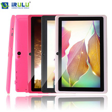 iRULU eXpro 1 x1 7 inch Quad core Q88 1.5GHz android 4.4 tablet pc allwinner A33 512M 16GB ROM Capacitive Screen Dual cam WIFI