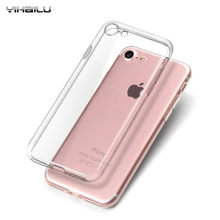 For iPhone6s TPU Soft Case Protect Camera Cover Transparent Silicon Ultra Thin Slim Shell for iPhone6s Plus Real Tracking Number