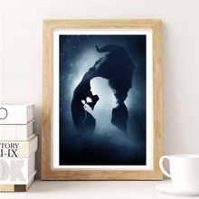Beauty And The Beast Movie Wallpaper Wall Art Canvas Posters Prints Painting Wall Pictures For Modern Bedroom Home Decor Artwork beauty beast movie wallpaper wall art canvas posters prints oil painting wall pictures for bedroom modern home decor accessories