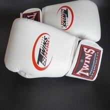 Customized Boxing Gloves White 10oz  Kungfu Muay Thai  Male Female Gants De Boxe Training Sanda Boxing Gloves Wushu Training