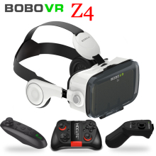 цены на Original BOBOVR Z4 Headset version Virtual Reality 3D VR Glasses cardboard bobo vr z4 for 3.5 - 6.0 inch smartphones Immersive  в интернет-магазинах