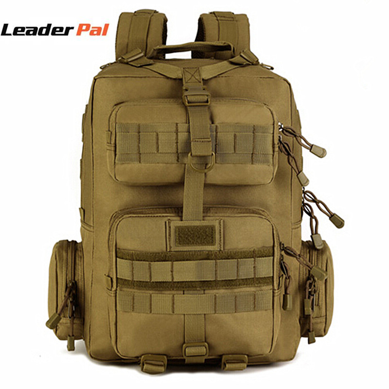 LeaderPal 30L Backpacks Military Patrol Backpack Double-Shoulder Multifunction Women Bag Big Capacity Travel Tactics Bagpack Men