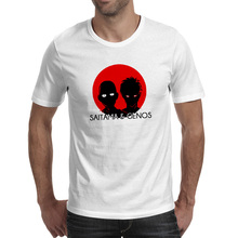 Saitama And Genos T-shirt Casual Novelty Fashion T Shirt Skate Cool Punk Women Men Top