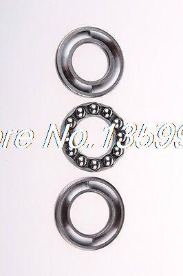 10pcs Axial Ball Thrust Bearing 51118 90mm*120mm*22mm