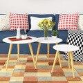 Mesas de café Sala de estar Móveis Para Casa de Móveis mesas de café de madeira maciça estilo Americano Europeia whole sale 2017 multi tamanho