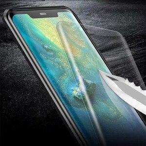Image 5 - 360 קדמי + אחורי דו צדדי 9 H מזג זכוכית מקרה עבור Huawei Mate20 פרו מגנטי מקרה עבור Huawei mate 20 פרו מתכת פגוש כיסוי