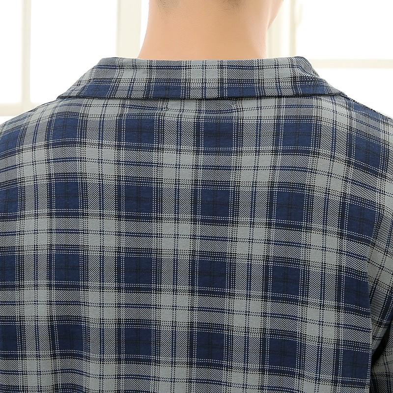 Men\'s Cotton Polyester Pajama Sets RBS-C LYQ1414 45