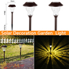 Outdoor Lights IP44 Garden Lawn Lamp Light Energy Saving Solar Lamp Stainless Steel Glass Crack Solar