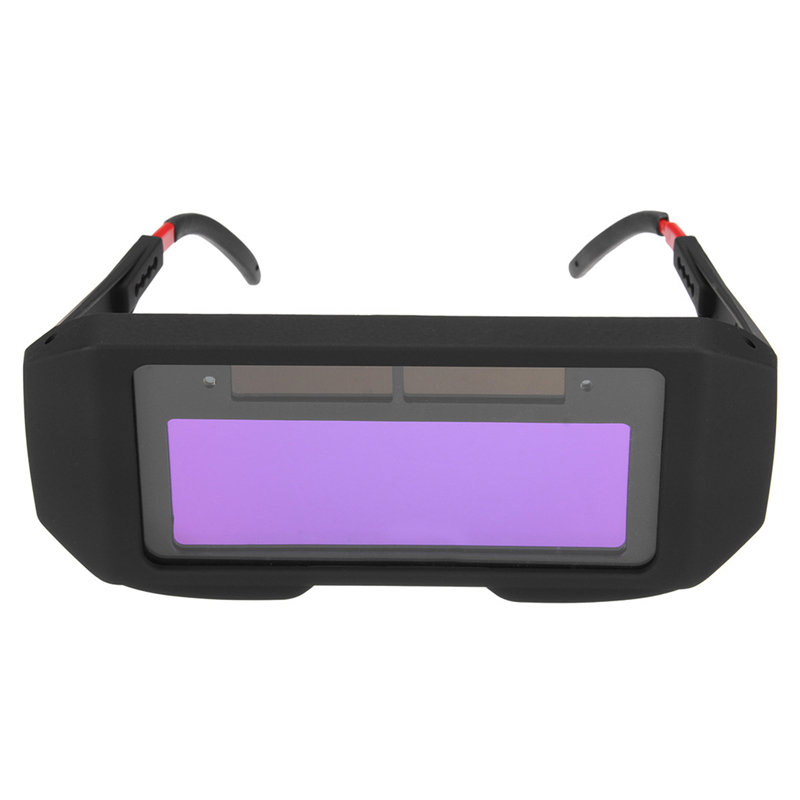 NEW Solar Power Auto Darkening Welding Mask Helmet Eyes Shield Goggle Welder Glasses Workplace Safety fire flames auto darkening solar powered welder stepless adjust mask skull lens for welding helmet tools machine free shipping