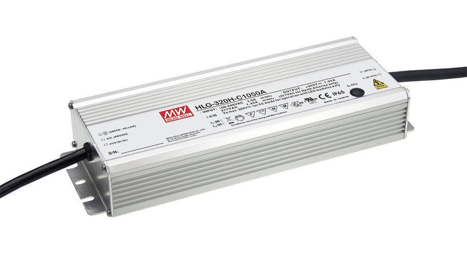 1MEAN WELL original HLG-320H-C1750A 91 ~ 183V 1750mA meanwell HLG-320H-C 320.25W LED Driver Power Supply A Type