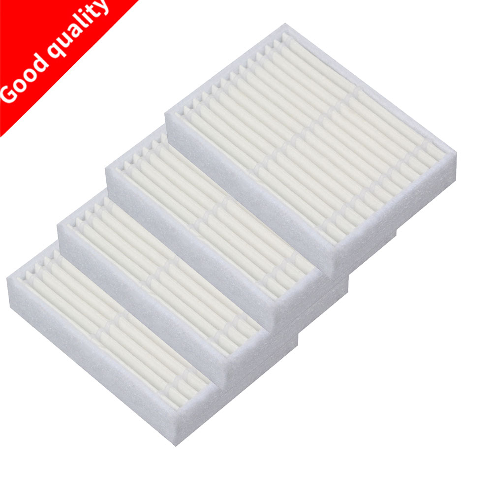 4 pcs/lot Robot Vacuum Cleaner Parts HEPA Filter for Panda X600 pet Kitfort KT504 Robotic 10pcs replacement hepa dust filter for neato botvac 70e 75 80 85 d5 series robotic vacuum cleaners robot parts