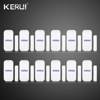 2pcs Lot Kerui Extra Home Wireless Door Window Detector For Home Alarm System Touch Keypad Battery