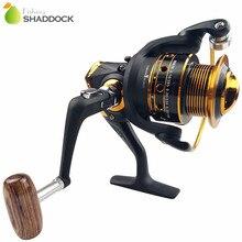Shaddock Fishing 13BB Ball Bearings Matte Black Fishing Reels China Metal Saltwater Fishing Spinning Reel AX2000-3000